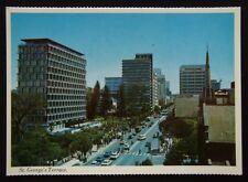 Perth WA St George's Terrace c1970's Postcard (P238)