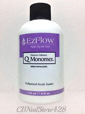 EzFlow Nail Systems- Q Monomer- Acrylic Nail Liquid  4 fl.oz/ 118ml