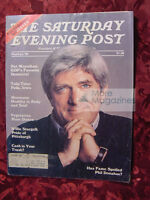 Saturday Evening POST May June 1980 PHIL DONAHUE WILLIE STARGELL