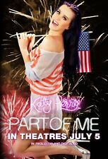 Katy Perry movie poster - Part Of Me (C) Katy Perry poster - 11 x 17 inches