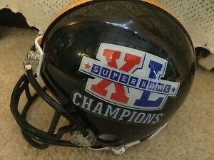 Pittsburgh Steelers Super Bowl 40 Mini Helmet