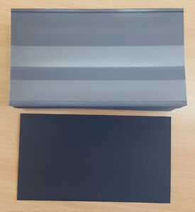 Hawid 2 Strip Stock Cards with foil cover and black card back - from 6.7p card