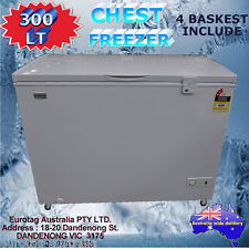 EUROTAG 300LT CHEST FREEZER WITH LOCKS & WHEELS RRP$699.00 !!!! BRAND NEW!!!!