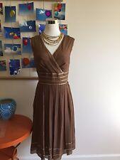 Adriana Papell silk dress NWT size 8