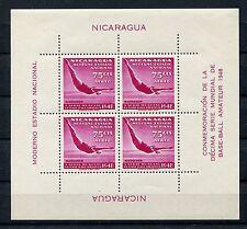Nicaragua Block 23 postfrisch / Schwimmen .................................1/134