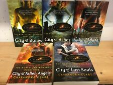 Mortal Instruments, by Cassandra Clare: collection of 5 children's fiction books