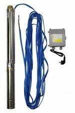3 Zoll Tiefbrunnenpumpe CS 75QJD115-0.37 mit 20m Kabel und Controlbox