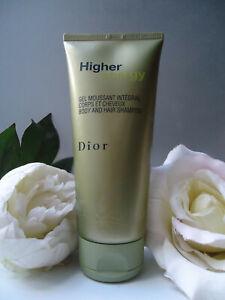 Dior HIGHER ENERGY Body & Hair Shampoo Shower Gel 200ml Rare Discontinued New