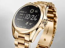 MICHAEL KORS 2018 Access Connected Ladies GOLD Bracelet Smart Watch NEW! SALE!