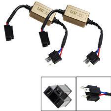 2X H4 9003 LED Headlight No OBC Error Anti Flicker Resistor Canceller Decoders