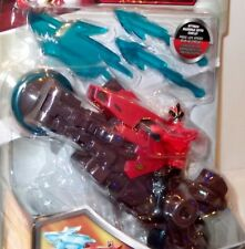 NEW Unopened - POWER RANGERS SUPER SAMURAI figure SHARK SWORD CYCLE - Bandai RED