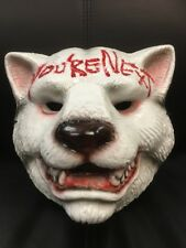 UK YOU'RE NEXT WOLF TIGER MASK HALLOWEEN FANCY DRESS UP COSTUME COSPLAY YOURE 2-