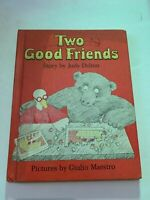 1974 Two Good Friends by Judy Delton Weekly Reader Hardcover