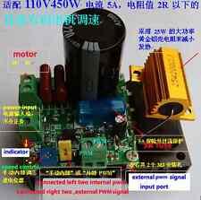 PWM Speed Controller AC 110V For DC 12/24/48/90V 110V 450W 5A Brush Motor Driver
