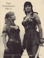 Xena Chakram No 6 Newsletter of the Official Xena Fan Club