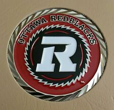 "Cfl Ottawa Redblacks 1-3/4"" Challenge Coin"