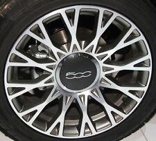 "(4 Stück) Alufelge 6jx15"" et35 passende FIAT 500 - 500C - Zertifikat UN/ECE124R"