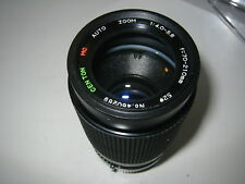 PENTAX PK-K/R  FIT 70-210MM F4/5.6 MC CENTON ZOOM LENS FILM/DIGITAL