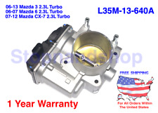 New Throttle Body for 2007-2013 Mazda 3 speed3 6 Speed6 CX-7 2.3L Turbocharged