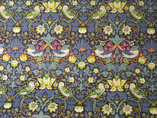 "LIBERTY TANA LAWN FABRIC DESIGN ""Strawberry Thief J "" 2.6 metres x 1.36 METRES"