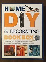 HOME DIY & DECORATING BOOK BOX By Mike Lawrence & Stewart & Sally Walton