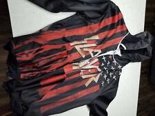 slayer zip up hoodie