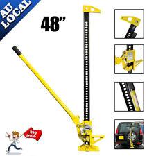 """AU 3000Kg High Farm Jack 48"""" inch Hi Lift Heavy Duty 4x4 4WD SUV 3 TON Yellow"""