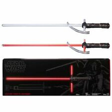 New Star Wars The Black Series Kylo Ren Force Fx Deluxe Lightsaber Free Ship