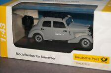 RF33] 1:43 Schuco Mercedes 170V Holzvergaser matt grey POST OVP
