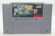 Super Nintendo Scooby-Doo Mystery Game Cartridge, Works R13436