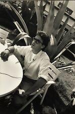 Françoise Huguier - Delon Cannes 1987 - Vintage Photography - Cinéma Agence Vu