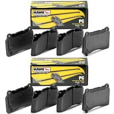 HAWK CERAMIC STREET FRONT AND REAR BRAKE PADS FOR 1994-2001 ACURA INTEGRA 4x100