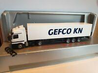 Actros     GEFCO KN GmbH & Co.KG 70372 Stuttgart   Koffersattel  Exclusiv Serie