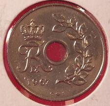 1967-- DENMARK--25 ORE--BETTER GRADE
