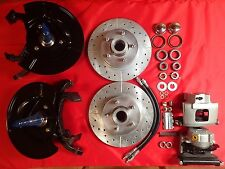 1954 1955 1956 FORD PASSENGER CAR FRONT DISC BRAKE CONVERSION GRANADA SPINDLE