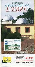España Centenario Observatori de L'Ebre año 2004 (CU-966)