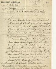 Lettera del Console Generale di Sua Maestà il Re di Sardegna a Tripoli 1834