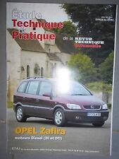 Opel ZAFIRA diesel 2.0 DI et TDI : revue technique RTA 633