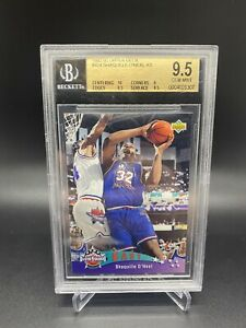 1993 UD All Star Shaquille O'Neal #424 ROOKIE BGS 9.5 GEM MINT w/ 10 🔥🔥POP 29