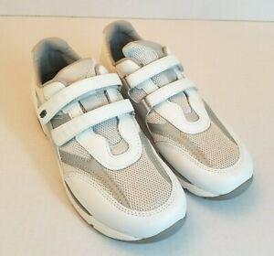 SAS TMV Walking Shoes Tripad Comfort 10 Narrow Silver White
