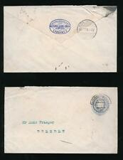 GB KE7 STATIONERY STO INDIA RESERVE BANK 2 1/2d to DRESDEN 1903