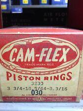 """Cam-Flex Piston Ring Set  #3230  .030"""""""