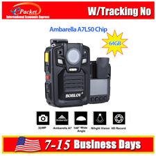 64GB Ambarella A7 Polizei Körper getragen Kamera Recorder DVR HD Nachtsicht heiß