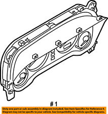 Dodge CHRYSLER OEM 2003 Stratus-Instrument Panel Dash Gauge Cluster MR962587