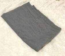 IKEA Solid Gray HILJA Curtain Panel, 57 x 98 1/2 inches, Lowers Light, One Panel