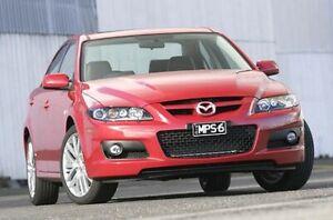 New Genuine Mazda 6 GG MPS Headlight Covers Mazda6 2005 - 2007 GG11-HL-C0VMPS