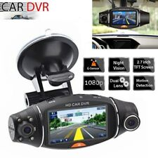 HD 1080P Dual Lens Car DVR Dash Cam Dashboard Camera Video Recorder G-sensor UK