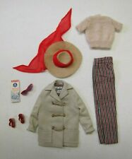 "Vintage Barbie Doll ""OPEN ROAD"" OUTFIT #985 Original Complete 1961-62 Hat Shoes"