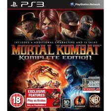 Mortal Kombat Komplete Edition Ps3 Video Game