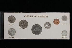 1968 Canada. 8 Coin Set. (#5)